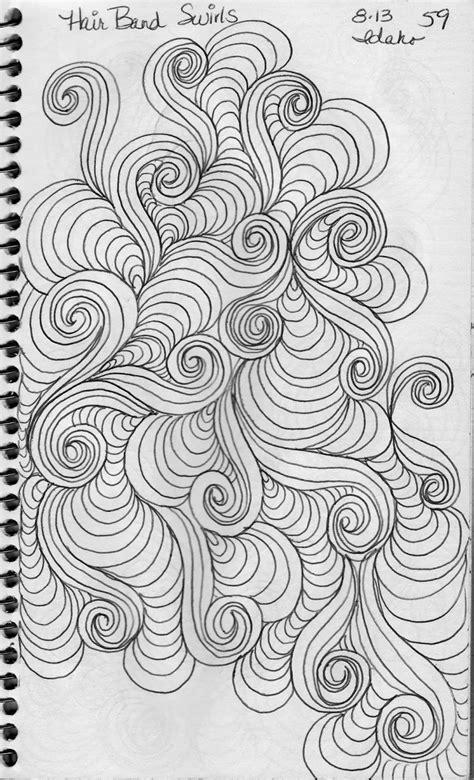 doodle swirl pattern luann kessi swirl design sketches and books