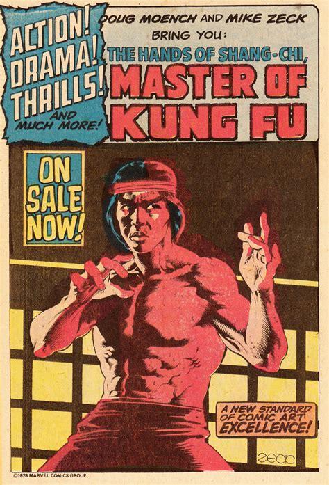 shang chi master of kung fu shang chi the master of kung fu appreciation page 20