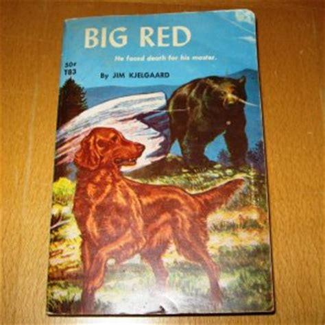 irish setter dog books big red 4th printing 1962 classic irish setter dog
