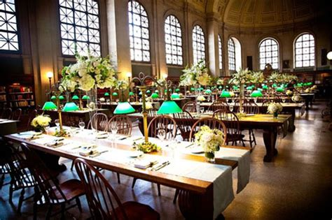 library events library wedding venue the boston public library