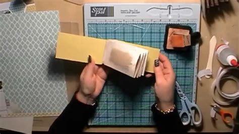 tutorial scrapbook youtube toilet roll mini scrapbook album tutorial with a hinge