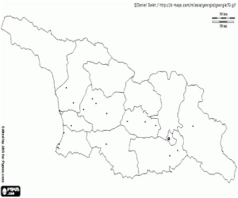 coloring page map of georgia political maps of asia countries coloring pages printable