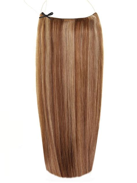 halo hair extensions united states distributor the halo in chocolate brown chestnut mix 4 8 4 8