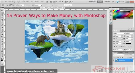 10 Proven Ways To Earn Money At Home This Year 15 Proven Ways To Make Money With Photoshop
