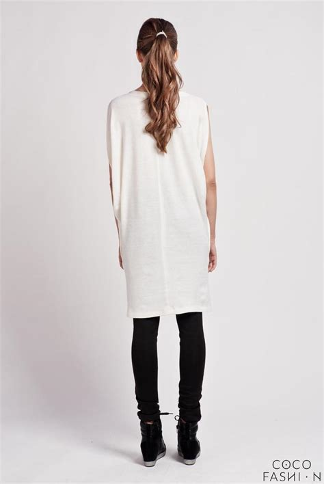 casual comfortable dresses ecru comfortable casual tunic dress with bat sleeves