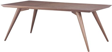 zuo stockholm dining table walnut stockholm dining table walnut zuo 100000 mid century