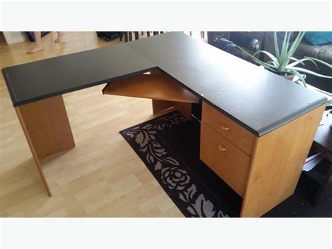 Used L Shaped Desk For Sale L Shaped Desk For Sale Saanich
