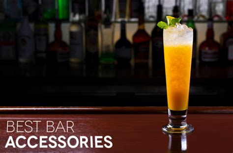 bar top accessories best home bar accessories digital trends