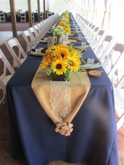 Tischdeko Hochzeit Ideen Vorschl Ge by Tischdeko Mit Sonnenblumen 252 Ber 50 Sonnige Vorschl 228 Ge