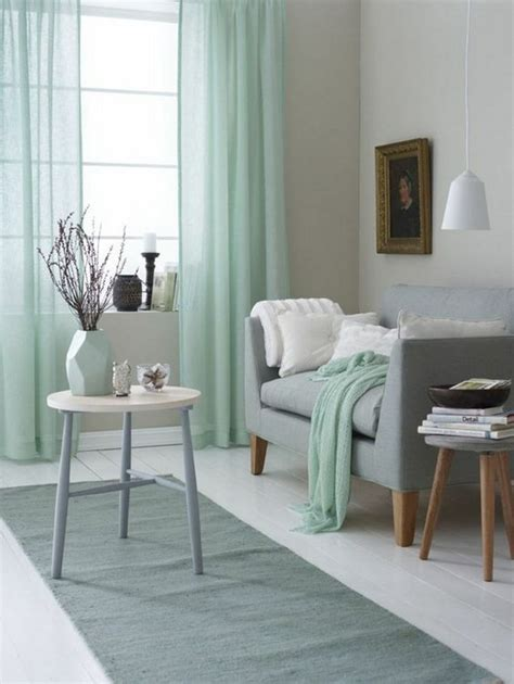 mint green living room 30 green and grey living room d 233 cor ideas digsdigs
