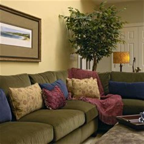 traditional family room olive green couches design pictures remodel decor and ideas page 5