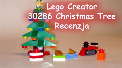 lego creator christmas tree 30286 recenzja youtube
