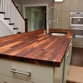 custom walnut butcher block countertop home