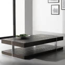 Tables solid wood modern coffee tables for living room all modern
