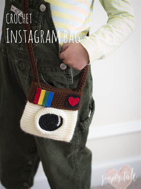 crochet pattern instagram purse crochet instagram bag simply tale