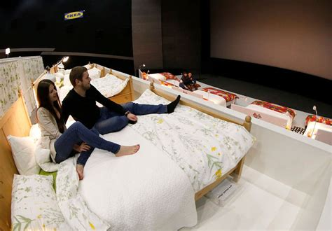 Theater With Beds by Comfort Focused Cinemas In Bed