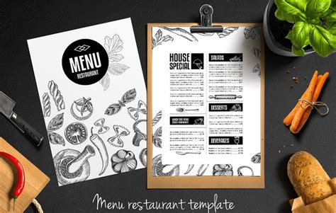 Top 25 Free Paid Restaurant Menu Templates Restaurant Menu Design Templates