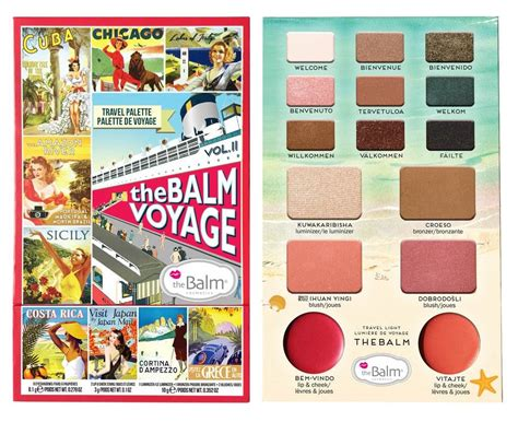 The Balm Voyage Vol 2 Palette the balm voyage 174 vol 2 palette