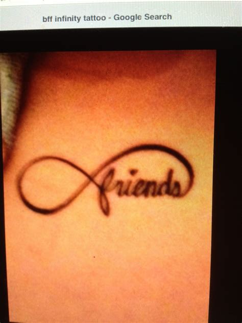 best friend infinity tattoos friends infinity i want it to be blue with a