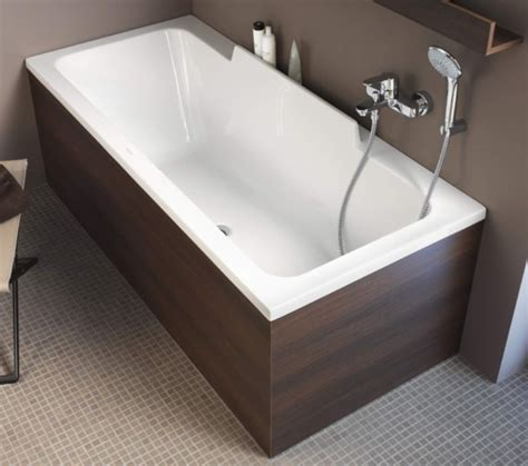 duravit durastyle 1700 x 700mm bath with left slope and