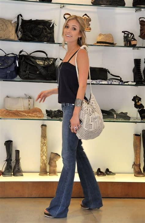 Name That Bag Kristin Cavallari by Kristin Cavallari Canvas Hobo Bag Lookbook Stylebistro