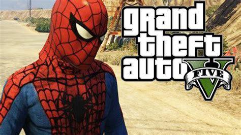 mod gta 5 spiderman gta 5 mods quot the amazing spider man mod quot gta 5 spiderman