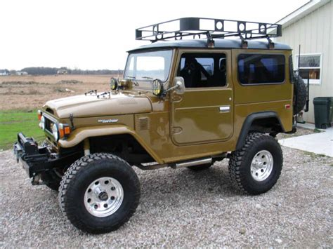 Toyota Fj40 Parts Toyota Fj40 Technical Details History Photos On Better