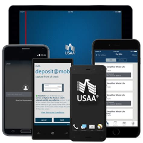 mobile deposit usaa mobile services access anytime anywhere with a smart