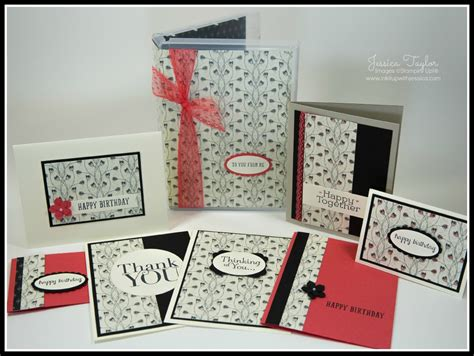 Card Making Gift Sets - a set of handmade cards makes a great gift ink it up with jessica card making