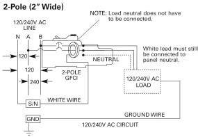 siemens qf  amp  pole  volt ground fault circuit
