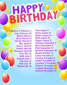 birthday list template doc 585831 birthday list template free birthday list