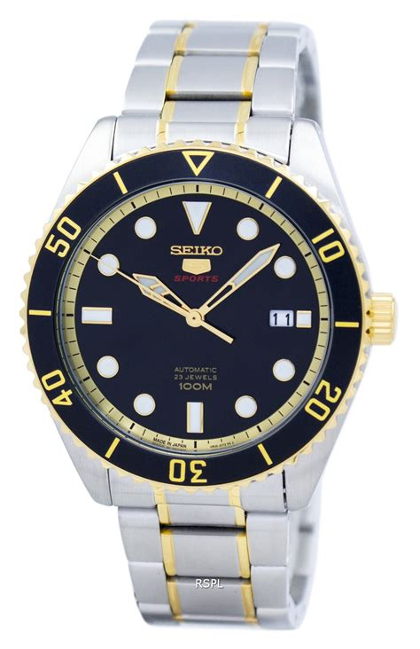 Seiko 5 Otomatis Japan seiko 5 sports automatic japan made srpb94 srpb94j1