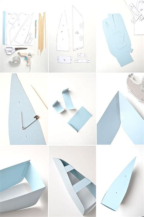 How To Make A Small Paper Boat - diy paper boat decorations oh happy day bloglovin