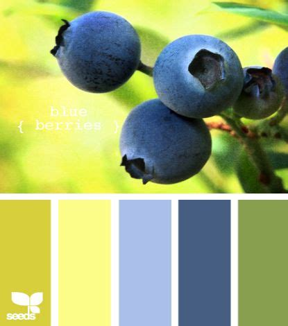 Blue Yellow Green Color Palette