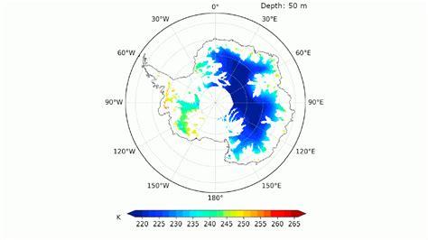 esa revealing interior temperature  antarctic ice sheet