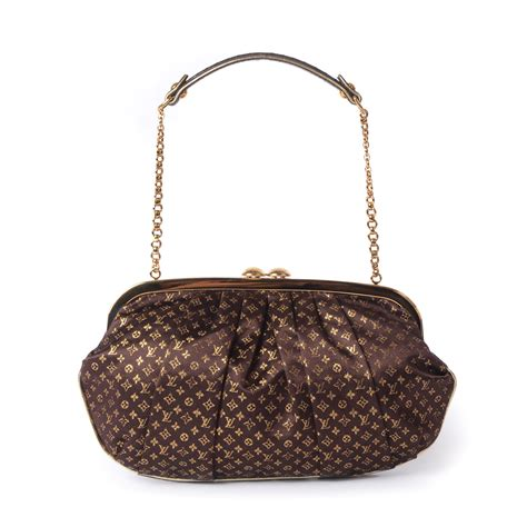 Louis Vuitton Limited Edition 1 louis vuitton limited edition brown monogram satin