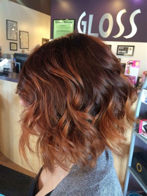 sew in bobs hairstyles in auburn colors sew in bobs hairstyles in auburn colors auburn copper melt