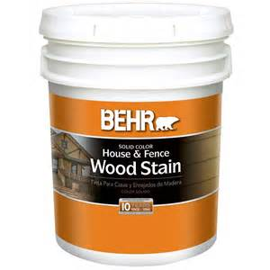 home depot stain colors behr 5 gal white solid color house and fence wood stain