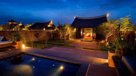 Pool Guest House Plans banyan tree lijiang yunnan province china