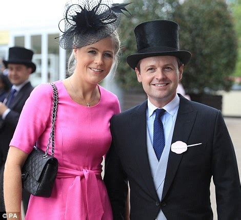 ant and dec take their wives lisa and ali for day out at