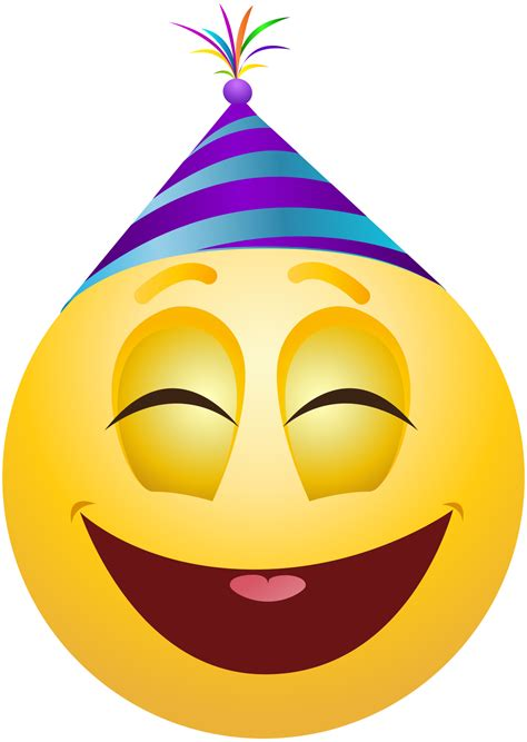 celebration emoji png party emoticon emoji clipart info