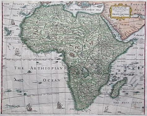 africa map 1747 prints africa page