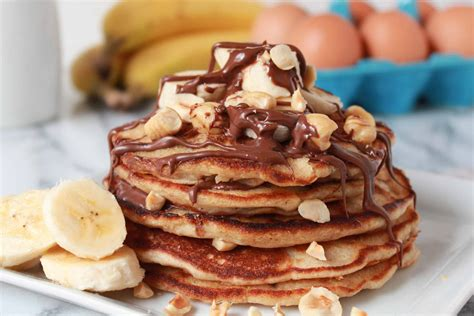 Celebrating Home Interior by Whole Wheat Banana Nutella Pancakes Celebrating Sweets