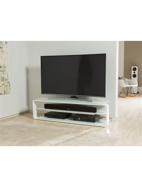 Glass Tv Stand With Mount by Alphason Lithium 1400mm Tv Stand Adl1400 Wht 121 Tv Mounts
