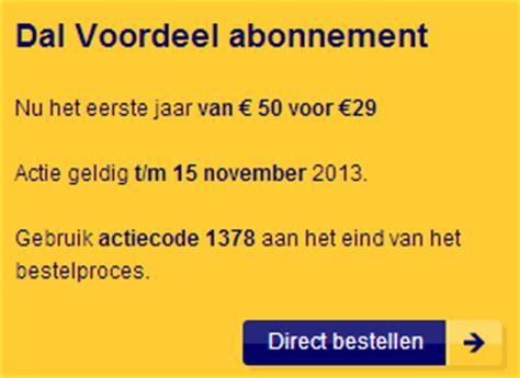 7 keuzedagen ns ns actie dal voordeel abonnement eerste jaar voor maar 29