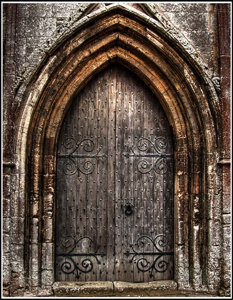 Exterior Church Doors Church Door Hdr By Edam On Deviantart