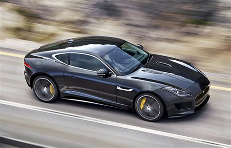 the new jaguar f type coupe has been leaked and it s