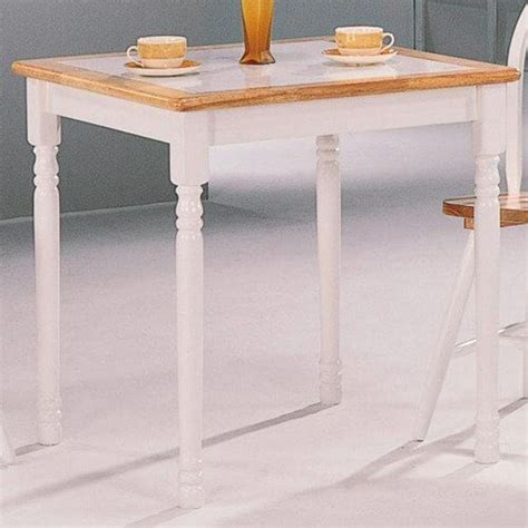 coaster home furnishings country dining table insteading