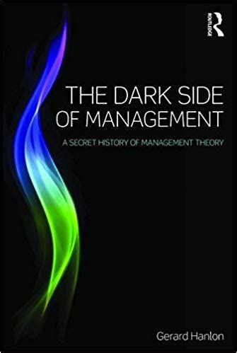 Side Of Management by Review The Side Of Management Philip Roscoe