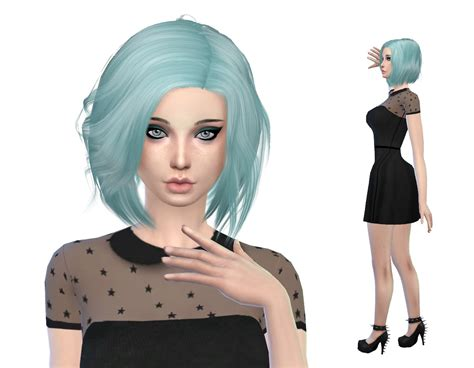 sims 4 cc hair sims 4 cc the sims 4 cas cc lookbook 3 sims